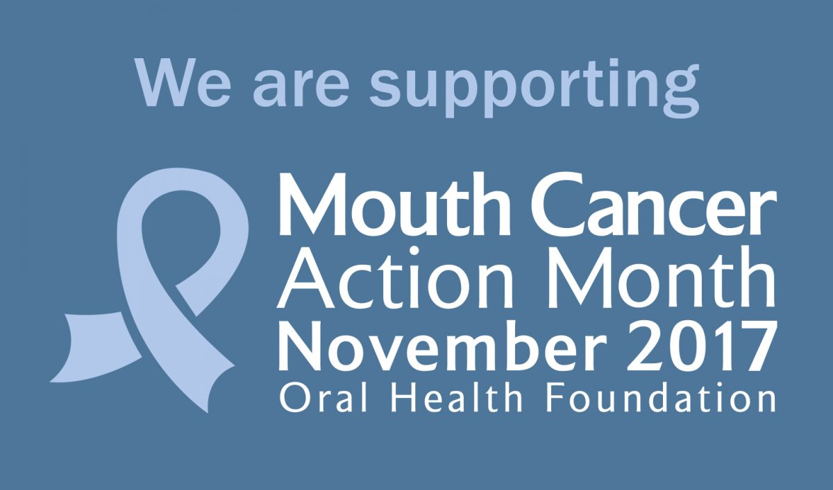 We are supporting Mouth Cancer Action Month at Bridgeways Dental in Southampton