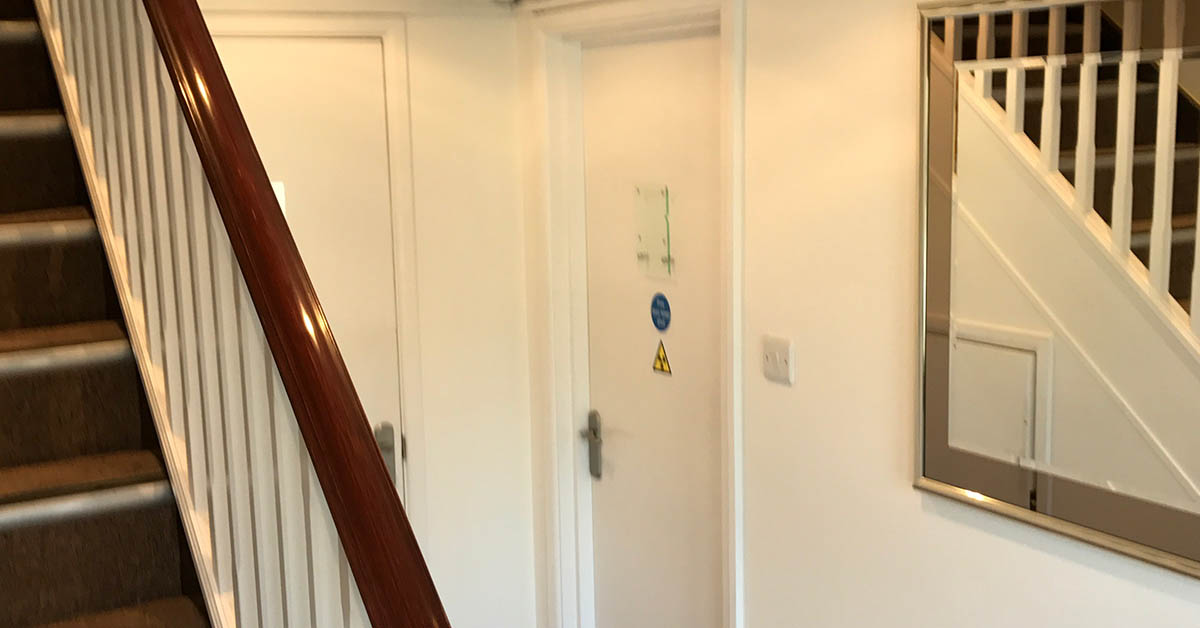 hallway renovation dentist in new forest southampton
