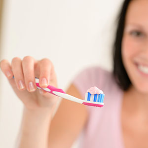 tooth brushing dentist in hampshire