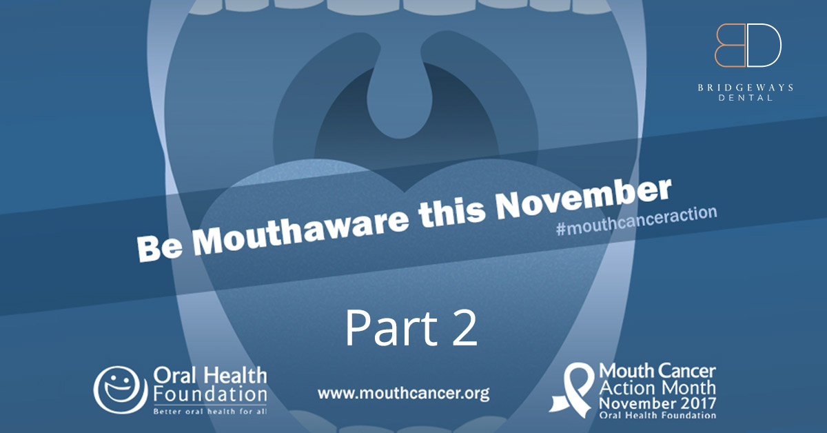 mouth cancer action risk factors in southampton