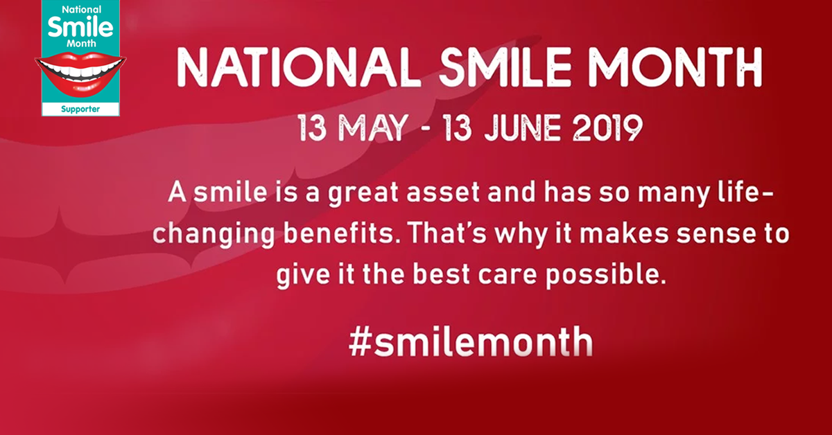 national smile month dentist southampton