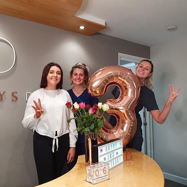 bridgeways dental birthday in southampton