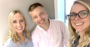 A better dental practice in Southampton, dentists Casey, George and dental nurse Sophie